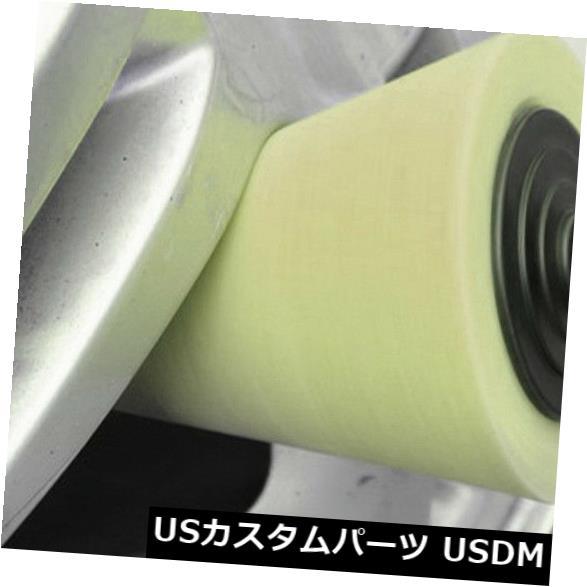 USメッキパーツ 自動車ホイールハブwxのための1X黄色い円錐形の磨くスポンジ用具 1X Yellow Cone Shaped Polishing Sponge Tool For Automobile Wheel Hub wx