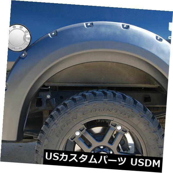 USメッキパーツ 2009-2014 Ford F-150のプレミアムFXポリッシュガスドアカバー Premium FX Polished Gas Door Cover for 2009-2014 Ford F-150