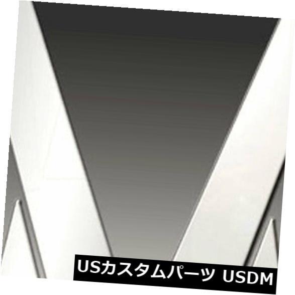 USメッキパーツ 2009-2013日産ムラーノの柱ポストカバー[8pcポリッシュ]プレミアムFX Pillar Post Covers for 2009-2013 Nissan Murano [8pc Polished] Premium FX