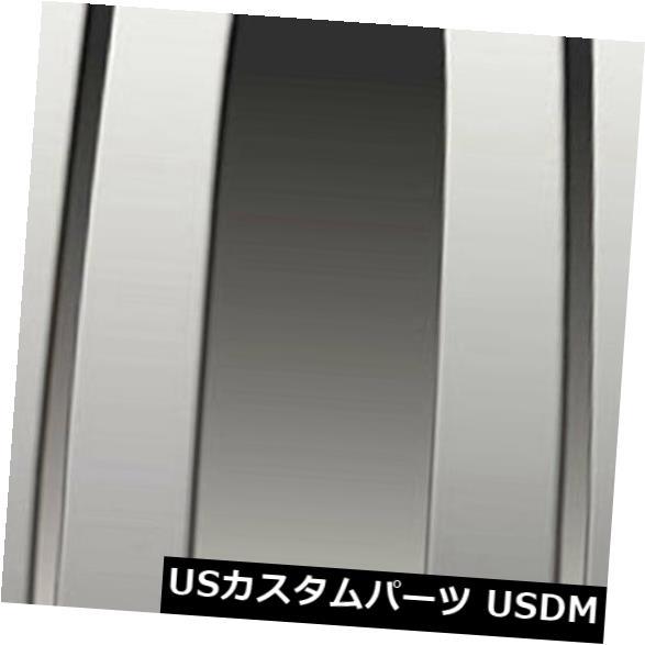 USメッキパーツ 2007-13年度シボレーシルバラードExtキャブ[4ポリッシュ]プレミアムFXの柱ポストカバー Pillar Post Covers for 2007-13 Chevy Silverado Ext Cab [4p Polished] Premium FX