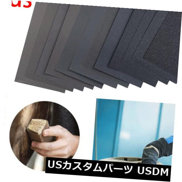 USメッキパーツ 36枚のサンドペーパー120から3000のグリットウェットドライボディ研磨品揃え研磨剤 36 Pcs Sandpaper 120 to 3000 Grit Wet Dry Car Body Polishing Assortment Abrasive