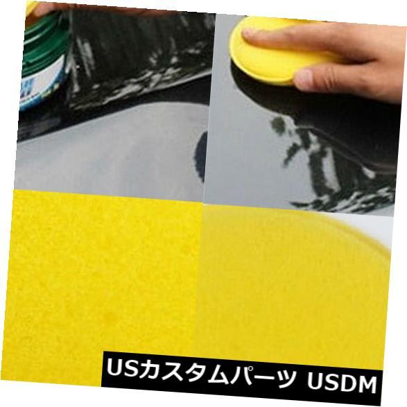 USメッキパーツ 12Pcs車の自動ワックスをかけるポーランドのワックスの泡のスポンジのアプリケーターのクリーニングの詳述のパッド 12Pcs Car Auto Waxing Polish Wax Foam Sponge Applicator Cleaning Detailing Pads
