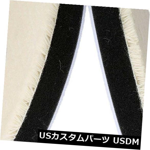 USメッキパーツ 2 xカーケアウール研磨パッド6