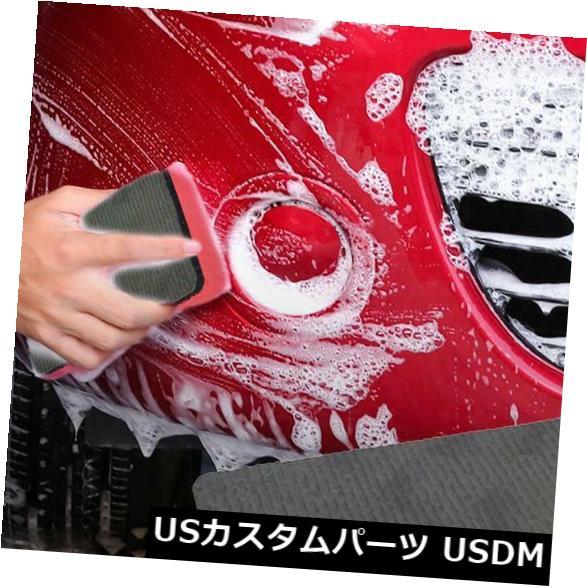 USメッキパーツ カーマジッククレイバーパッドスポンジブロッククリーニング消しゴム車洗浄ポーランドツール Car Magic Clay Bar Pad Sponge Block Cleaning Eraser Car Washing Polish Tools
