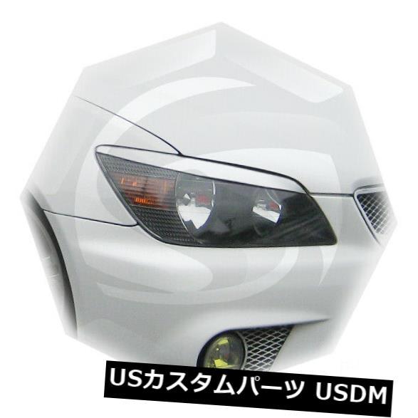 アイライン レクサスIS200 IS300トヨタアルテッツァアイブロウアイラインまぶた1998-2005 2pcs Lexus IS200 IS300 Toyota Altezza Eyebrows Eye Line Eyelids 1998-2005 2pcs