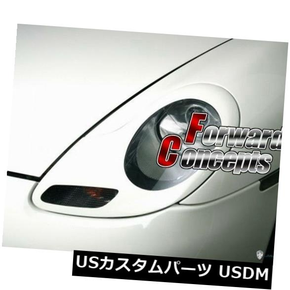 FOR  PORSCHE 996 986 911 Boxster HEADLIGHTS COVERS EYELIDS TRIMS 1 pair