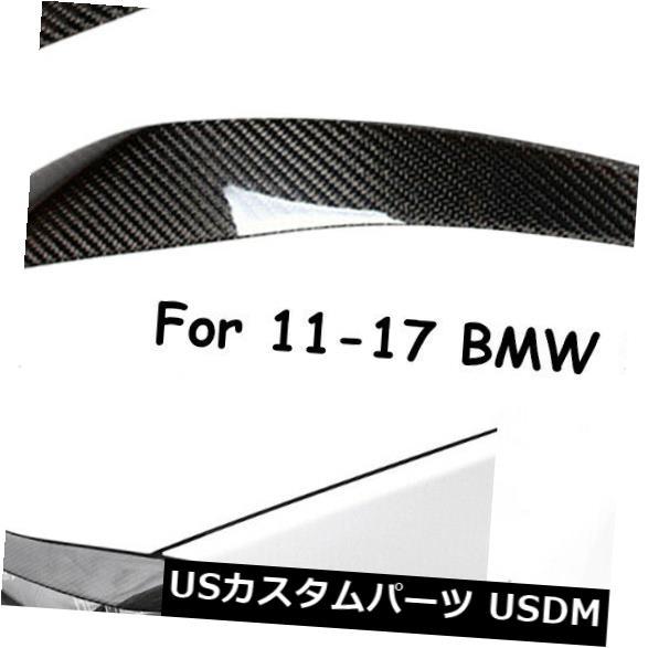 アイライン 2011-17 BMW F10 M5 5シリーズカーボンファイバーステッカー車のヘッドライトカバー眉毛 For 2011-17 BMW F10 M5 5 Series Carbon Fiber Sticker Car Headlight Cover Eyebrow