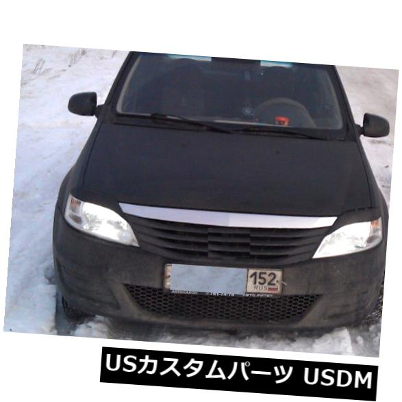 アイライン DACIA RENAULT LOGAN 2011-2016フロントまぶた眉毛ヘッドライトカバー For DACIA RENAULT LOGAN 2011 - 2016 Front Eyelids Eyebrows Headlight Covers
