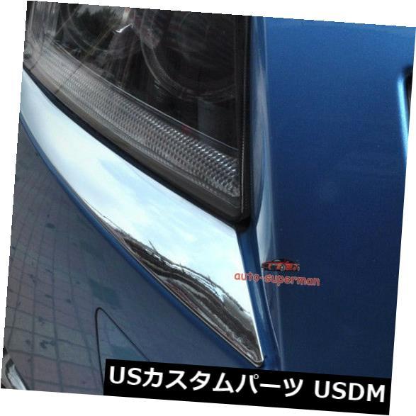 アイライン シェビークルーズ2009 2010 2011 2012 2013 2014のクロムヘッドライトまぶたトリムライン Chrome Head light Eyelid trim line FOR Chevy Cruze 2009 2010 2011 2012 2013 2014