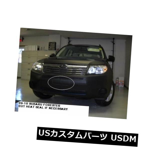 新品 スバルフォレスター2009-2013フロントエンドカバーフードマスク551238-01のLeBra LeBra for Subaru Forester 2009-2013 Front End Cover Hood Mask 551238-01