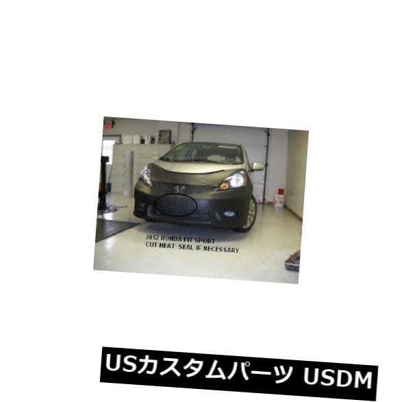 新品 レブラフロントエンドマスクブラカバーはホンダフィットスポーツ2012 2013 12 13に適合 Lebra Front End Mask Bra Cover Fits Honda Fit Sport 2012 2013 12 13