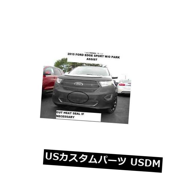 新品 Lebraフロントエンドマスクカバーブラジャーは2015-2018年フォードエッジスポーツW / Oパークアシストに適合 Lebra Front End Mask Cover Bra Fits 2015-2018 Ford Edge Sport W/O Park Assist