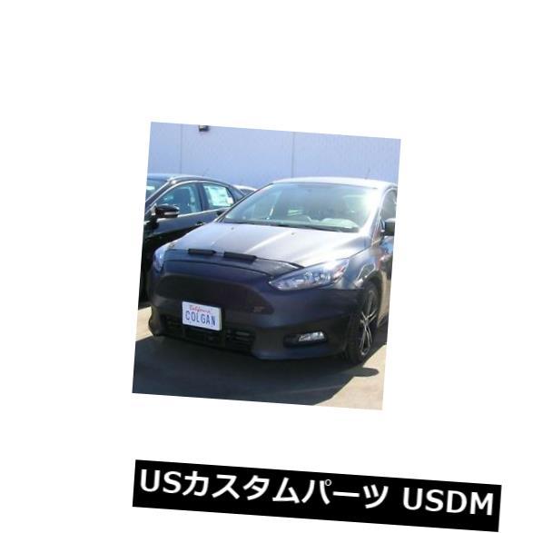 新品 コルガンフロントエンドマスクブラ2個。 Ford Focus STハッチバック15-18 W / Oライセンスに適合 Colgan Front End Mask Bra 2pc. Fits Ford Focus ST Hatchback 15-18 W/O License