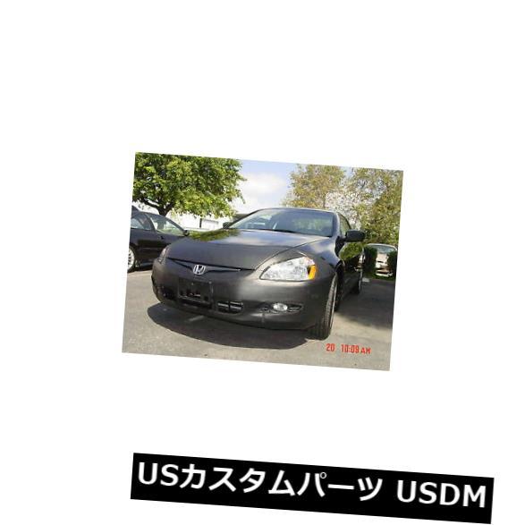 新品 コルガンフロントエンドマスクブラ2個。 ホンダアコードクーペW /ライセンス2003-2005に適合 Colgan Front End Mask Bra 2pc. Fits Honda Accord Coupe W/License 2003-2005
