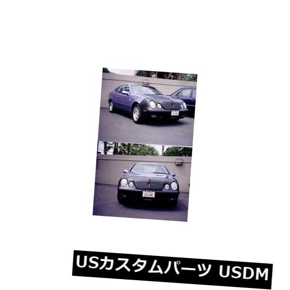 新品 コルガンフロントエンドマスクブラ2個。 メルセデスベンツCLK320 1998-2001 W /ライセンスに適合 Colgan Front End Mask Bra 2pc. Fits Mercedes Benz CLK320 1998-2001 W/License