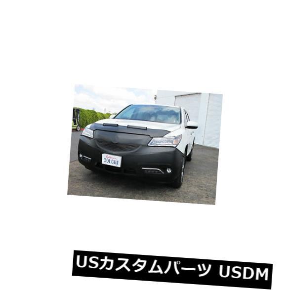 新品 Colgan Front End Mask Bra 2pc. Fits Acura MDX SUV W/Lic. Plate & Sensors 2014-16