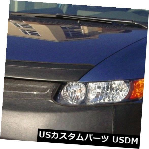 新品 コルガンフロントエンドマスクブラ2個。 ホンダシビッククーペ06-2008(ナンバープレートなし)に適合 Colgan Front End Mask Bra 2pc. Fits Honda Civic Coupe 06-2008 w/o License Plate