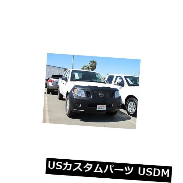 新品 コルガンフロントエンドマスクブラ2個。 日産フロンティアALL 2009-2015 WITH / Licenseに適合。 プレート Colgan Front End Mask Bra 2pc. Fits Nissan Frontier ALL 2009-2015 W/Licen. Plate