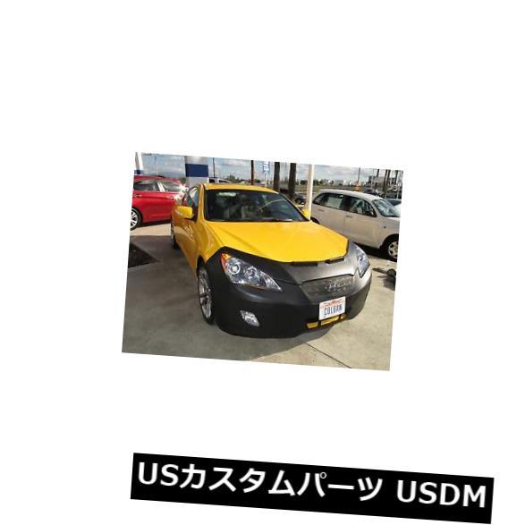 新品 コルガンフロントエンドマスクブラ2個。 Hyundai Genesis Coupe 2010-2012 W / Licenseに適合 Colgan Front End Mask Bra 2pc. Fits Hyundai Genesis Coupe 2010-2012 W/License