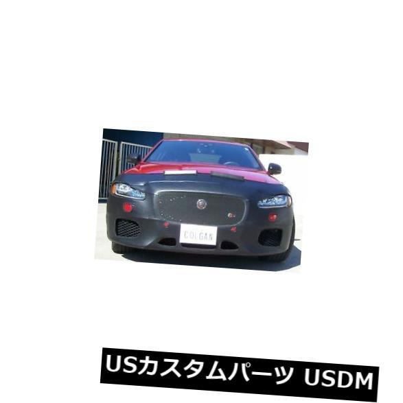 新品 Colgan Front End Mask Bra 2pc. Fits Jaguar XF-S Sed. & XFSportBrake 16-18 W/Lic.