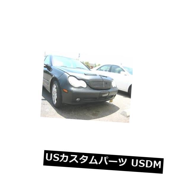 新品 コルガンフロントエンドマスクブラ2個。 Mercedes-Benz C230 Sedan 02-2004 W / Lic.plateに適合 Colgan Front End Mask Bra 2pc. Fits Mercedes-Benz C230 Sedan 02-2004 W/Lic.plate