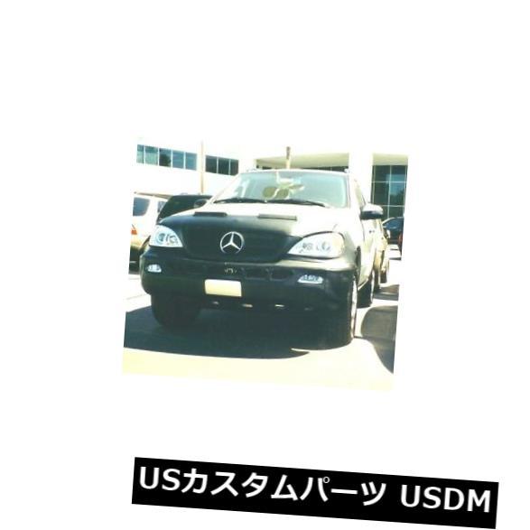 新品 コルガンフロントエンドマスクブラ2個。 Mercedes-Benz ML500 W / Lic.Plate 02-05 W / HWに適合 Colgan Front End Mask Bra 2pc. Fits Mercedes-Benz ML500 W/Lic.Plate 02-05 W/HW