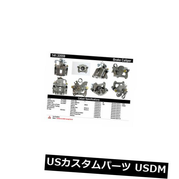 ブレーキキャリパー Centric Parts 141.33559リアリアハードウェア付きブレーキキャリパー Centric Parts 141.33559 Rear Right Rebuilt Brake Caliper With Hardware