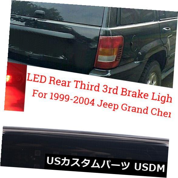 ハイマウントテール 99?2004年ジープグランドチェロキーリアハイマウントLED第3ブレーキ/カーゴテールライト用 For 99~2004 Jeep Grand Cherokee Rear High Mount LED 3rd Brake/Cargo Tail Lights