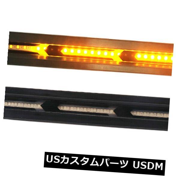 ハイマウントテール 2x 60 LEDカートラックDRL LEDライトバーブレーキフローターンシグナルストップテールランプ 2x 60 LED Car Truck DRL LED Light Bar Brake Flowing Turn Signal Stop Tail Lamp