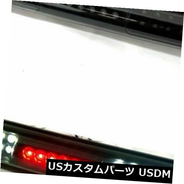 ハイマウントテール フィット1997 2003フォードF150 LED第3ブレーキライトブラックスモークカーゴランプ Fit 1997 2003 Ford F150 LED Third 3rd Brake Light Black Smoke Cargo Lamp