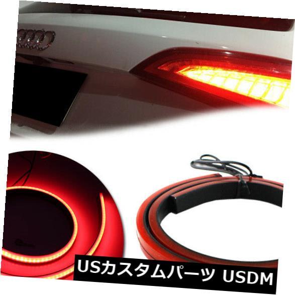 ハイマウントテール ハイマウント用の1個の赤色シーケンシャルLEDストリップ 1pc Red Sequential LED Strip for High Mount 3rd 4th Brake Stop Lights Taillight