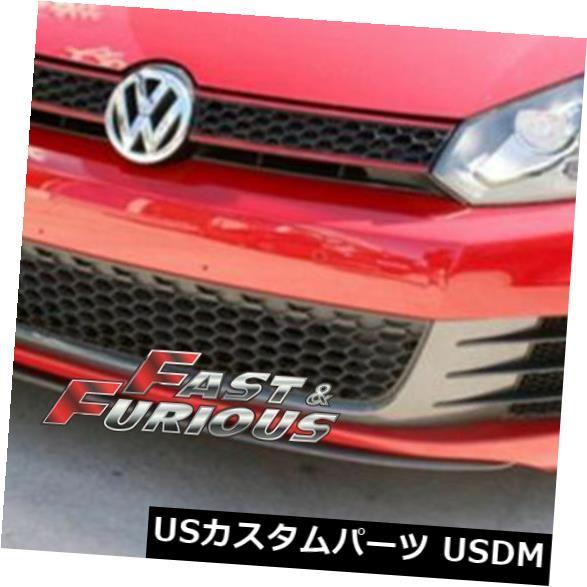 エアロ カーボンファイバー2010-2013ゴルフVI MK6 GTIフロントリップにフィット Fit for CARBON FIBER 2010-2013 Golf VI MK6 GTI Front Lip