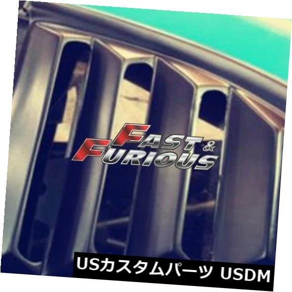 エアロ カーボンファイバー93-98スープラJZA80 MKIVサイドベントウィンドウクオータースクープルーバー用 FOR CARBON FIBER 93-98 Supra JZA80 MKIV Side Vent Window Quarter Scoop Louver