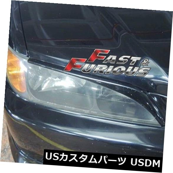 エアロ アコード1998-2002に適合JDM CF4 CF6 CL1 CH9ヘッドライトEYEBROWS EYELIDS Fit for Accord 1998-2002 JDM CF4 CF6 CL1 CH9 HEADLIGHTS EYEBROWS EYELIDS