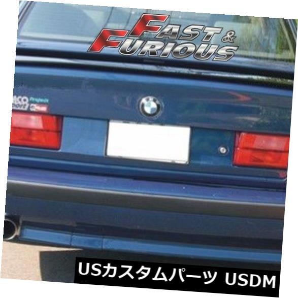 エアロ 1989-1995 E34 5-シリーズリアウィングトランクスポイラー525i 535i M5に適合 Fit for 1989-1995 E34 5-SERIES REAR WING TRUNK SPOILER 525i 535i M5