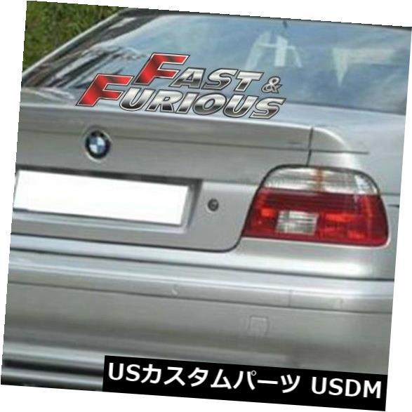 エアロ 1997-2003 E39 5-シリーズリアウィングウィンドウルーフスポイラー520i 523i M5に適合 Fit for 1997-2003 E39 5-SERIES REAR WING WINDOW ROOF SPOILER 520i 523i M5