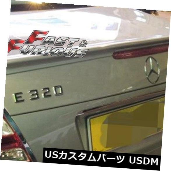 エアロ 2003-2009 W211 E-CLASSリアウィングトランクスポイラーE280 E300 E320 E350に適合 Fit for 2003-2009 W211 E-CLASS REAR WING TRUNK SPOILER E280 E300 E320 E350