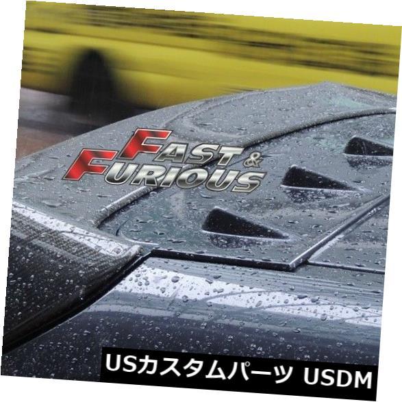 エアロ SUBARU 2008-2014インプレッサWRX GR GHルーフスポイラーボルテックスジェネレーターに適合 Fit for SUBARU 2008-2014 IMPREZA WRX GR GH ROOF SPOILER VORTEX GENERATOR