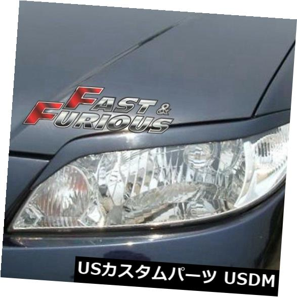 エアロ 2001-2003 PROTEGE 323 JDM SPORT HEADLIGHTS EYEBROW EYELIDSに適合 Fit for 2001-2003 PROTEGE 323 JDM SPORT HEADLIGHTS EYEBROW EYELIDS