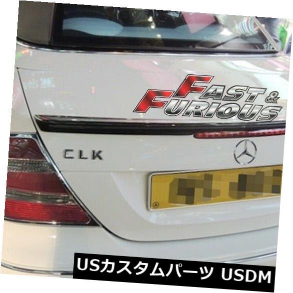 エアロ カーボンファイバー2003-2008 W209 CLKリアウィングトランクスポイラーCLK55AMG CLK350に適合 Fit for CARBON FIBER 2003-2008 W209 CLK REAR WING TRUNK SPOILER CLK55AMG CLK350