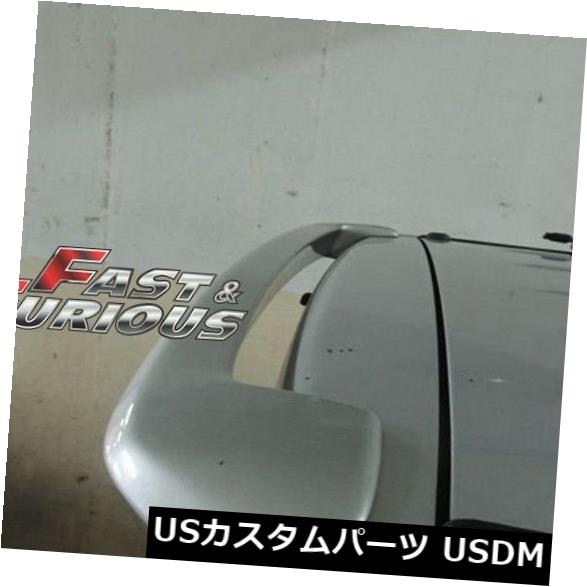 エアロ トヨタSCION 04-06 xB BB JDMリアウィングハッチルーフスポイラー用 FOR TOYOTA SCION 04-06 xB BB JDM REAR WING HATCH ROOF SPOILER