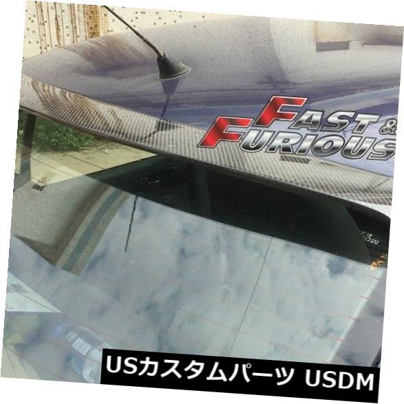 エアロ カーボンフォルクスワーゲンVW 99-04ジェッタボラリアウィングウィンドウルーフスポイラー用 FOR CARBON FIBER VOLKSWAGEN VW 99-04 JETTA BORA REAR WING WINDOW ROOF SPOILER