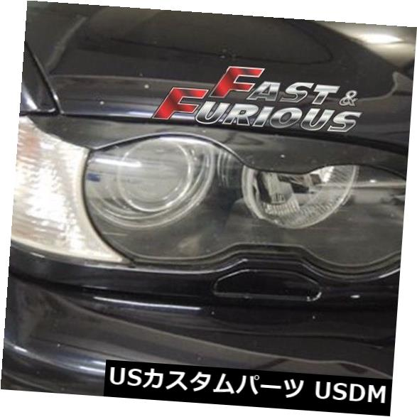 エアロ 2003-2006 E46 2D EYEBROWS EYELID EYELIDS 318Ci 323Ci 325Ci 330Ciに適合 Fit for 2003-2006 E46 2D EYEBROWS EYELID EYELIDS 318Ci 323Ci 325Ci 330Ci