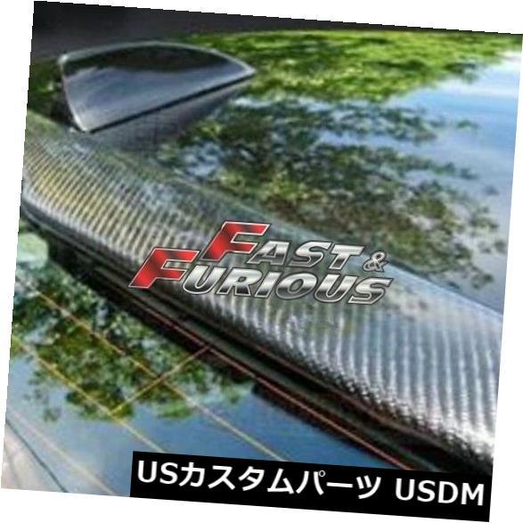 エアロ カーボンファイバー2004-2010 E60 5-シリーズセダンリアウィングルーフスポイラー525i M5に適合 Fit for CARBON FIBER 2004-2010 E60 5-SERIES SEDAN REAR WING ROOF SPOILER 525i M5