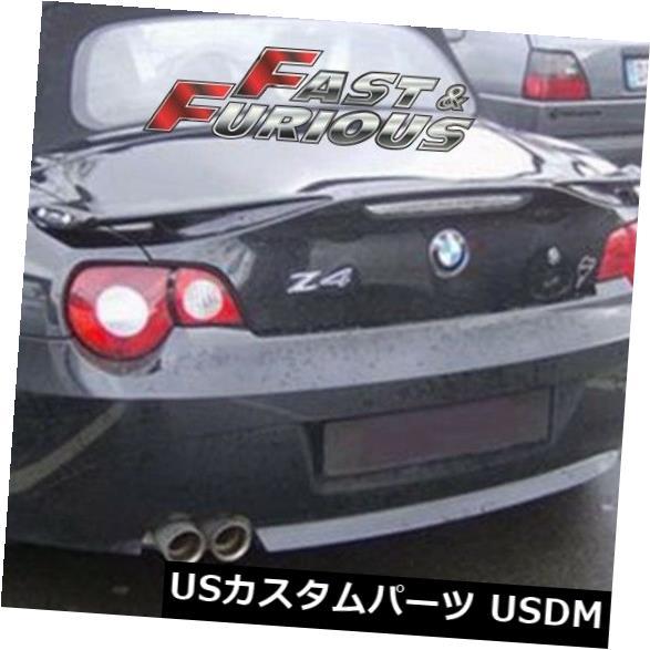 エアロ カーボンファイバー2003-2008 Z4 E85コンバーチブルリアウィングトランクスポイラーに適合 Fit for CARBON FIBER 2003-2008 Z4 E85 CONVERTIBLE REAR WING TRUNK SPOILER