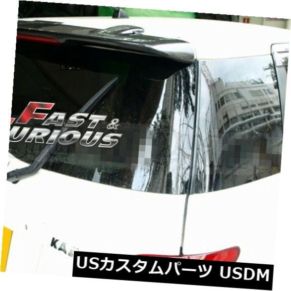 エアロ カーボントヨタトヨタサイオン04-07 xA ISTリアウィングハッチルーフスポイラー用 FOR CARBON FIBER TOYOTA SCION 04-07 xA IST REAR WING HATCH ROOF SPOILER