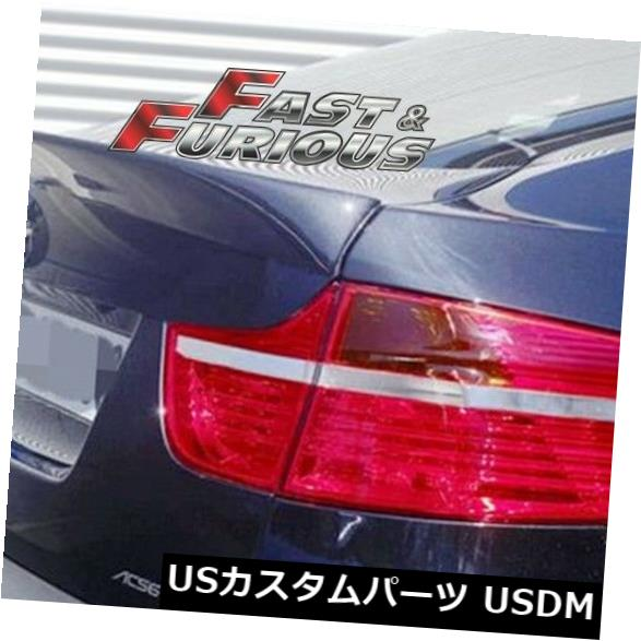 エアロ 2008-2014 X6 E71リアウィングトランクスポイラーに適合 Fit for 2008-2014 X6 E71 REAR WING TRUNK SPOILER