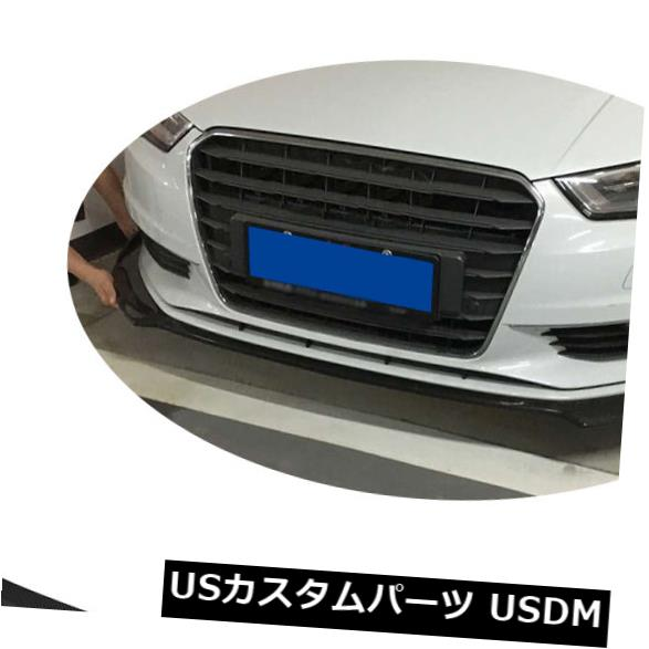 カーボン素材 カーボンファイバーフロントバンパーリップチンリフィットフィットFr Audi A3 NON S-LINE NON-S3 14-16 Carbon Fiber Front Bumper Lip Chin Refit Fit Fr Audi A3 NON S-LINE NON-S3 14-16