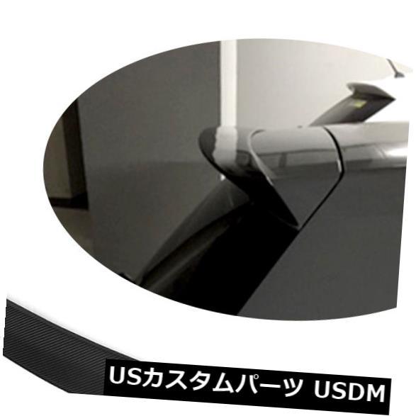 カーボン素材 カーボンフォルクスワーゲンゴルフ7 VII MK7 14-17用リアルーフスポイラーリップウイング Carbon Fiber Rear Roof Spoiler Lip Wing Fit for Volkswagon Golf 7 VII MK7 14-17