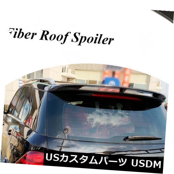カーボン素材 カーボン製メルセデス・ベンツGLEクラスGLE350 GLE43 AMG用リアルーフスポイラー Carbon Fiber Rear Roof Spoiler Fit for Mercedes-Benz GLE-Class GLE350 GLE43 AMG